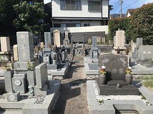 郡家東墓地(神戸市東灘区)のお墓