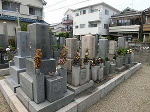 若王寺墓地(尼崎市)のお墓