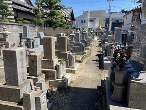 慈泉寺墓地(明石氏)のお墓