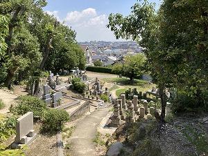 門戸共同墓地(西宮市)のお墓