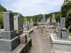 名塩墓地(西宮市)のお墓