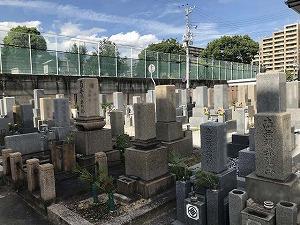西青木墓地(神戸市東灘区)のお墓