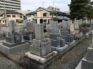 下坂部墓地(尼崎市)のお墓