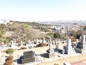 兵庫県芦屋市朝日ケ丘町にあるお墓、芦屋市墓地