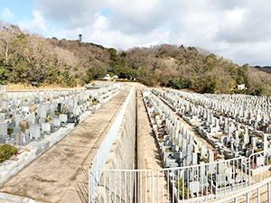 兵庫県神戸市北区にあるお墓、鵯越墓地
