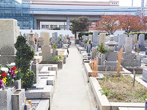 兵庫県神戸市東灘区にあるお墓、本庄墓地
