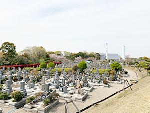 兵庫県明石市にあるお墓、石が谷墓地