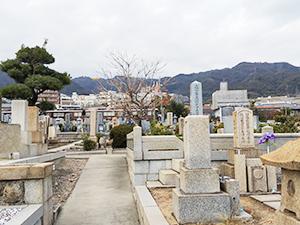 兵庫県神戸市東灘区にあるお墓、石屋墓地