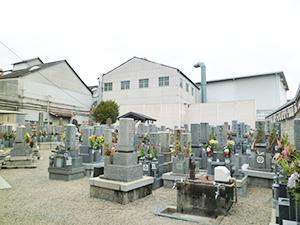 兵庫県尼崎市にあるお墓、常光寺墓地
