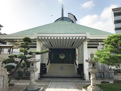 兵庫にある久遠寺 永代供養墓の永代供養墓の風景