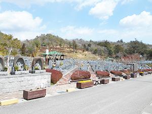 兵庫県神戸市北区にあるお墓、光明寺墓地公園