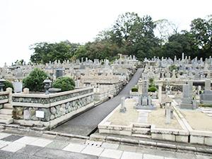 兵庫県西宮市にある満池谷墓地