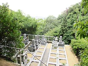 兵庫県西宮市にある妙龍寺夙川墓地