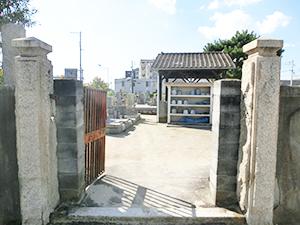 兵庫県西宮市にある中津墓地