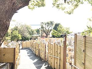 兵庫県神戸市須磨区にあるお墓、須磨寺墓地