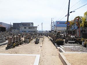 兵庫県神戸市兵庫区にあるお墓、高松墓地