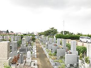 兵庫県尼崎市にあるお墓、弥生が丘墓地