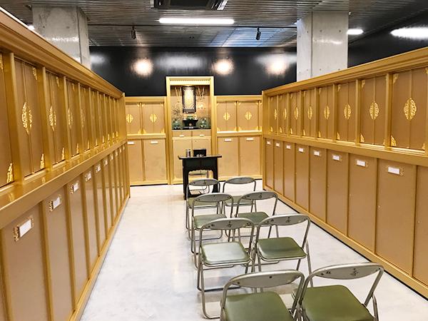 兵庫にある善立寺会館 納骨堂の永代供養
